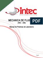 Practicas de Laboratorio de Mecanica de Fluidos
