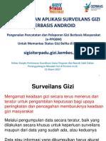 PPGBM Bagian Dari Surveilans Aceh 21 Maret 2017