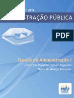 PNAP - Bacharelado - Teorias Da Administracao