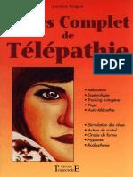 Cours complet de telepathie 271 pages.pdf