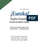 Eureka, Diccionario Técnico - Mejía