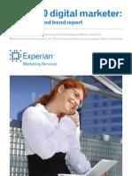 2010 Experian Marketing Services Digital Marketer