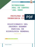 Solucionario Segundo Parcial Hidrologia General 1