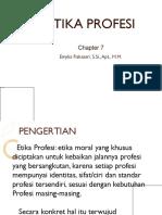 Etika and Hukum Kesehatan Etika Profesi