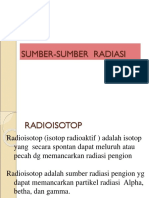 SUMBER RADIASI