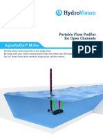 HydroVision Brochure Mobile Flow Profiler AquaProfilerMPro e 2017