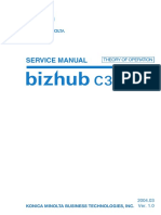 SERVICE MANUAL KONICA MINOLTA BIZHUB C300-350 SERIES COLOR DIGITAL MFD