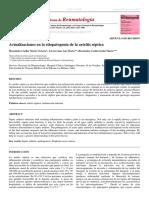 Actualizaciones en La Etiopatogenia de La Artritis Septica PDF