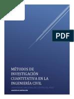 Métodos de Investigación Cuantitativa- Modelación