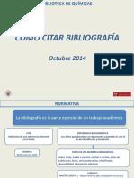 Fuentes y Citas Bibliograficas