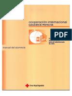 La ejecución de proyectos de cooperación internacional de Cruz Roja  Manual del delegado/a