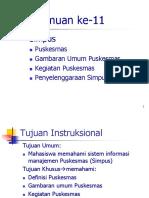 14. Sistem Informasi Manajemen Puskesmas