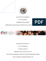 Papel y Función de ATP. Dante Guadalupe Rojas Mejía