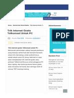 Trik Internet Gratis Telkomsel Untuk Pc.html