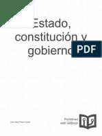 Estado Constitucion y Gobierno