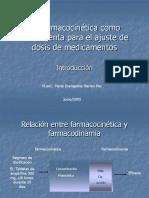 Farmacocinética para el ajuste de medicamentos