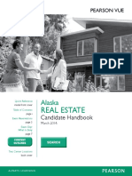 Real Estate Candidate Handbook