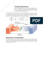 Conductividad Térmica y Material Refractario