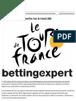 Favoritos Tour de Francia 2016 - Cuotas, Favoritos y Pronósticos en Bettingexpert