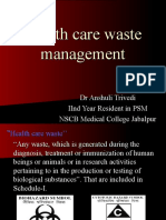 Health Care Waste Management