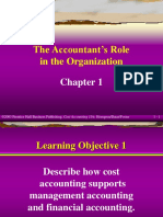 The Accountant's Role in the Organization