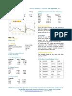 Market Update 26th September 2017