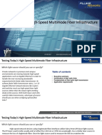 Testing Today´s High-Speed Multimode Fiber Infrastructure White Paper