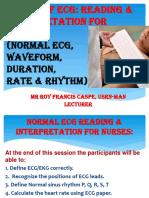 ECG Reading & Interpretation