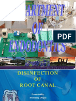 Disinfection of Root Canal New