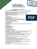 Temario de Fisiopatologia. 2015 2 Semestre