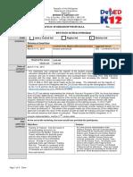 Infoteach Training Proposal