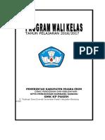 Contoh Program Kerja Wali Kelas Tahun Pelajaran 2016-2017.doc