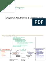 3 Job Analysis, Compensation