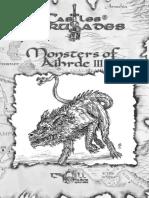 Castles & Crusades Monsters of Aihrde III