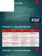 Domain 3 Security Engineering