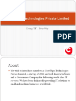 CoreTegra Technologies best gst fc  in chandigarh