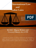 PRIL and Labor Laws