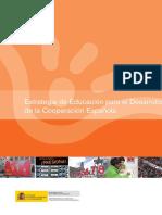 Estrategia de Educación para el Desarrollo de la Cooperación