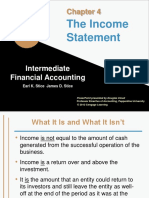 Intermediate Financial Accounting - Income Statement