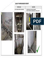 Quality Improvement - Grout Leakage