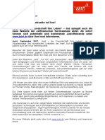 +++ Pressemeldung - Die neue Juist.de-Seite ist live! +++