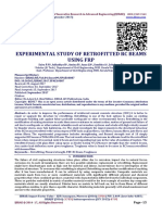 EXPERIMENTAL STUDY OF RETROFITTED RC BEAMS USING FRP