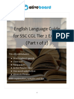 English for SSC-CGL