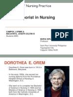 Theorist in Nursing (Part 2)