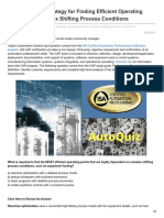 Automation.isa.Org-AutoQuiz Best Strategy for Finding Efficient Operating Points With Complex Shifting Process Condition