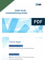 Microwave-BC-En-ZXMW NR8250 V2.00 Commissioning Guide