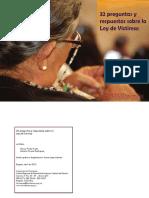 32 preguntas y respuestas sobre la Ley de victimas.pdf