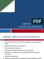 ASO tema1- administración de servicio de directorio