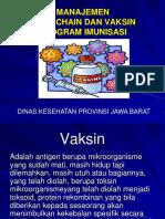 Management Cold Chain Dan Vaksin