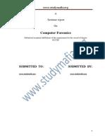 Cse Computer Forensics Report